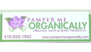 Pamper Me Organically - Organic bath and beauty products Whitby