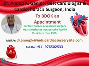 Dr Anoop K. Ganjoo Cardiothoracic surgeon at Apollo Hospital