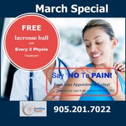 Free Lacrosse Ball with Every 2 Physio Treatment