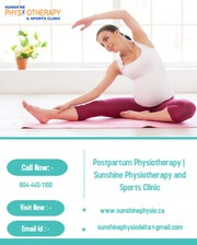 Postpartum Physiotherapy | Sunshine Physiotherapy and Sports Clinic