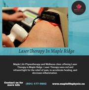 Laser Therapy In Maple Ridge | Maple Life Physiotherapy