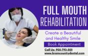 Full Mouth Rehabilitation Treatment by Dentist in Brampton